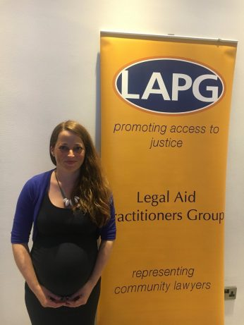 Legal aid lawyer of the year - Sophie
